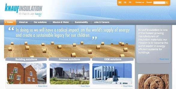 Emakina redesigns Knauf Insulation's website |