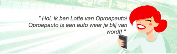Oproep auto - Europcar