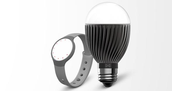 Misfit smart lamp