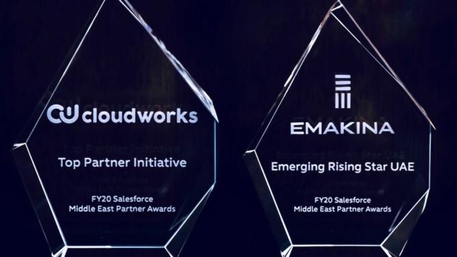 Emakina Group wins 2 of 7 Salesforce Middle East Partner Awards
