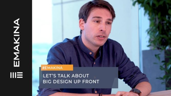 Big Design Up Front, Emergent Design, or somewhere in between?