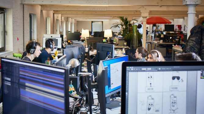 """Post-Covid work: how Emakina.BE intends to become """"the place where you want to come to work"""""""
